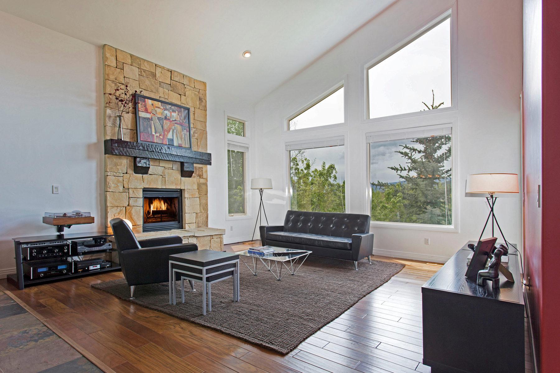 Vivienda unifamiliar por un Venta en Fresh Contemporary with Amazing Views 3195 W Daybreaker Dr Park City, Utah 84098 Estados Unidos