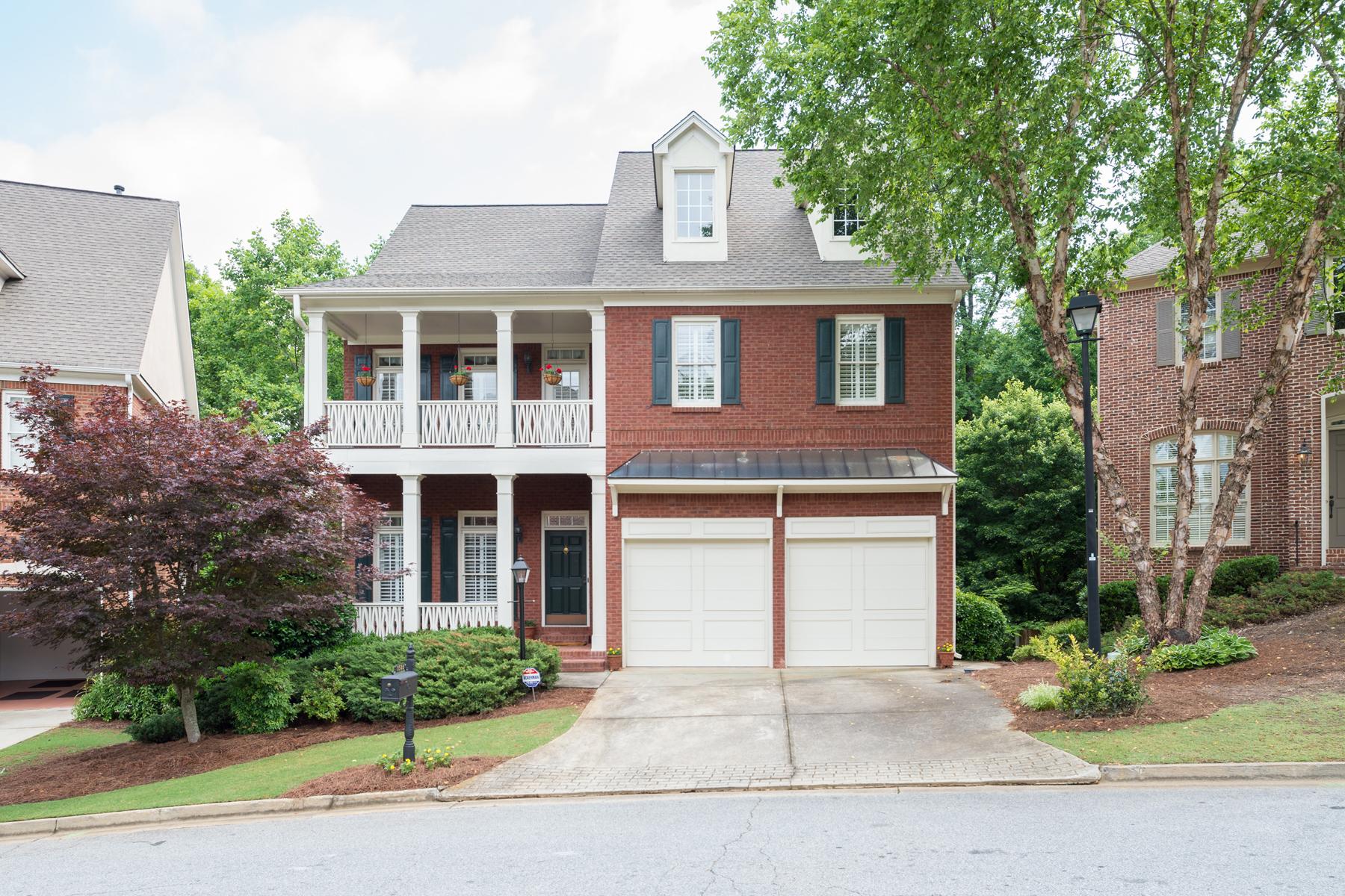 Single Family Home for Sale at Handsome Brick Traditional 3533 Highgrove Way Atlanta, Georgia 30319 United States