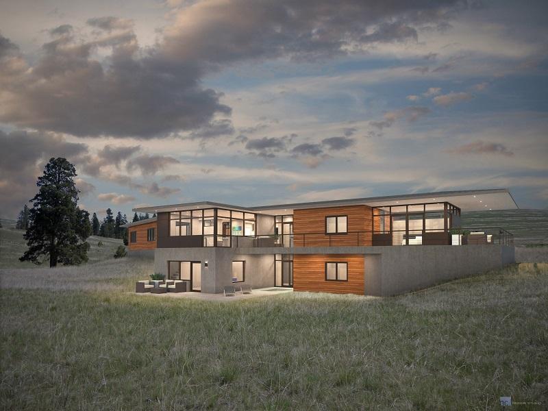 Maison unifamiliale pour l Vente à TBB Loraine Missoula, Montana 59803 États-Unis