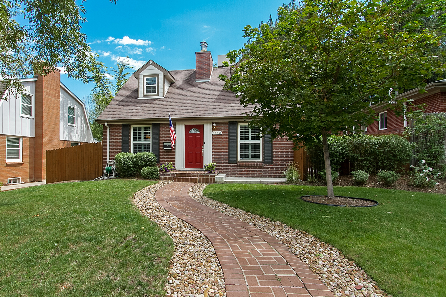 Single Family Home for Sale at Stunningly remodeled Cape Cod in University Park, ready for you to move in! 1840 South Clayton Street Denver, Colorado 80210 United States