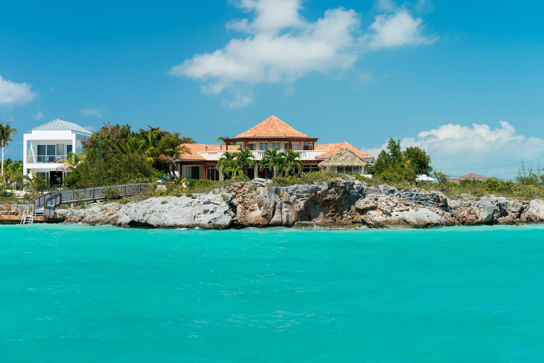Vivienda unifamiliar por un Venta en Luxury Villa on Sapodilla Bay Oceanfront Sapodilla Bay, Providenciales TCI Islas Turcas Y Caicos