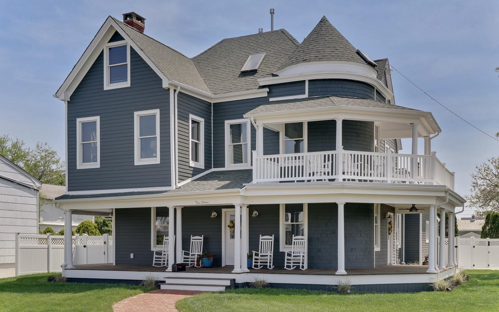 Single Family Home for Sale at Fabulous Classic Charming Seashore Colonial 211 First Avenue Belmar, 07719 United States
