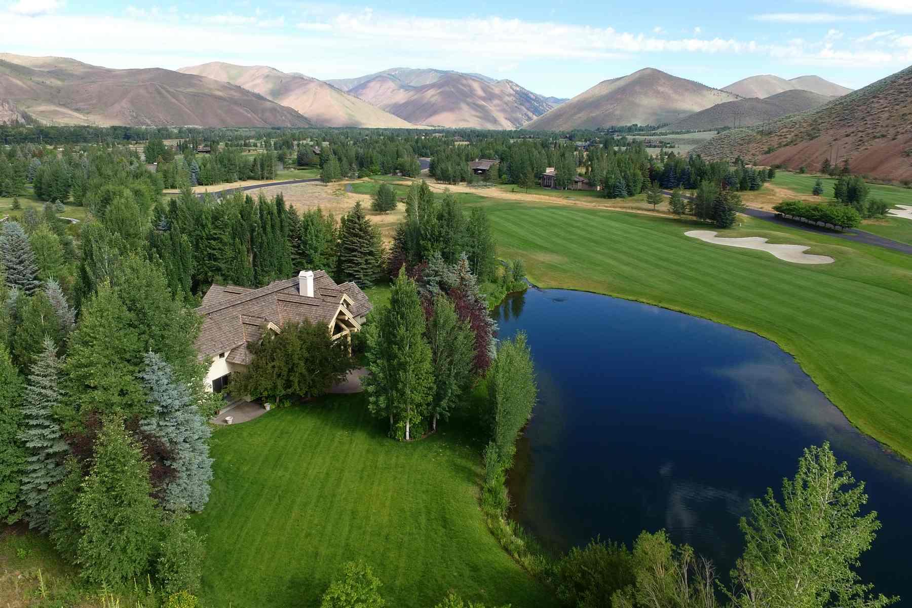 Maison unifamiliale pour l Vente à Valley Club 330 Valley Club Dr. Hailey, Idaho 83333 États-Unis