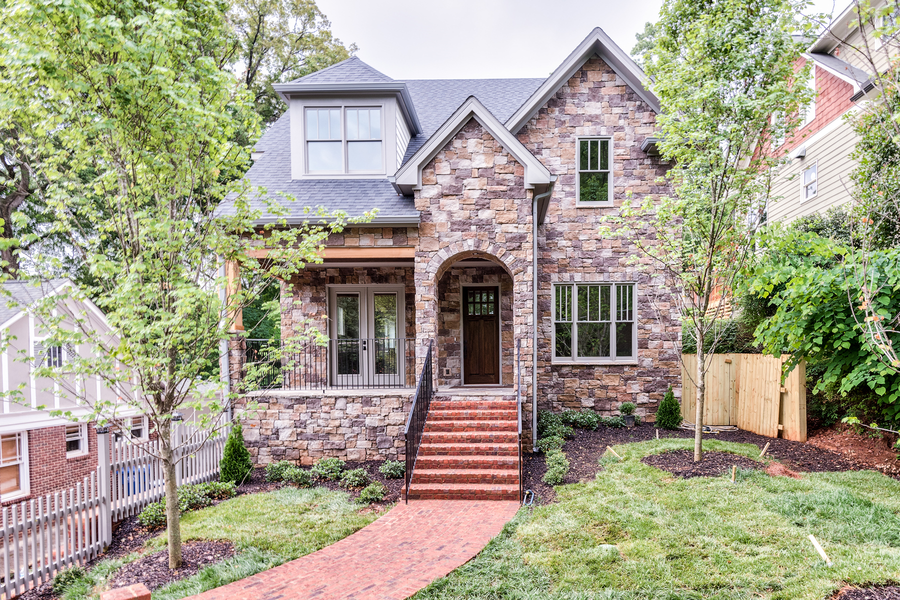 Single Family Home for Active at New Traditional Home In Morningside 1065 Amsterdam Avenue NE Atlanta, Georgia 30306 United States