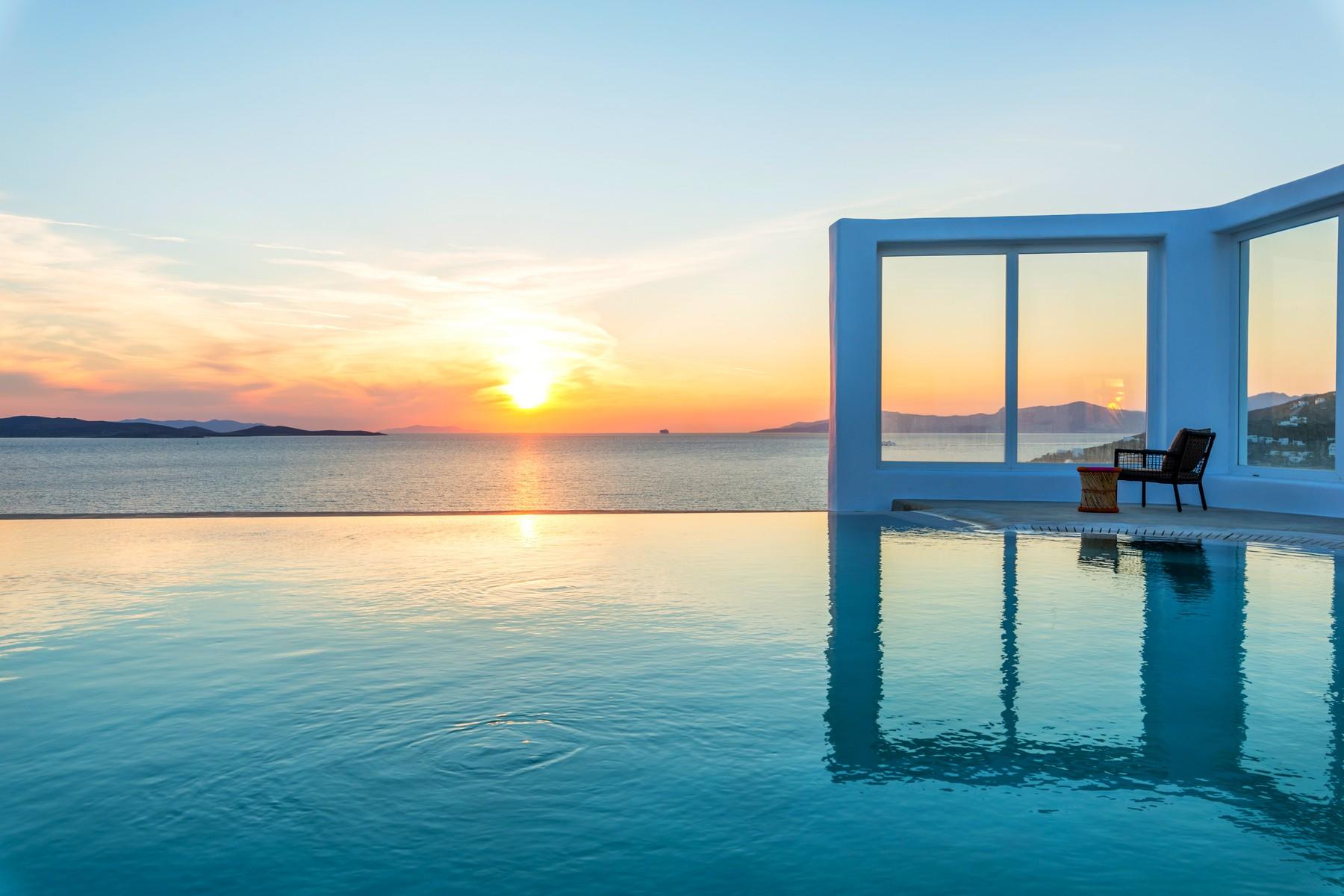 단독 가정 주택 용 매매 에 Exclusive Waterfront Aleomandra, Mykonos, Cycldes, Aegean Mykonos, 서던 에게, 84600 그리스