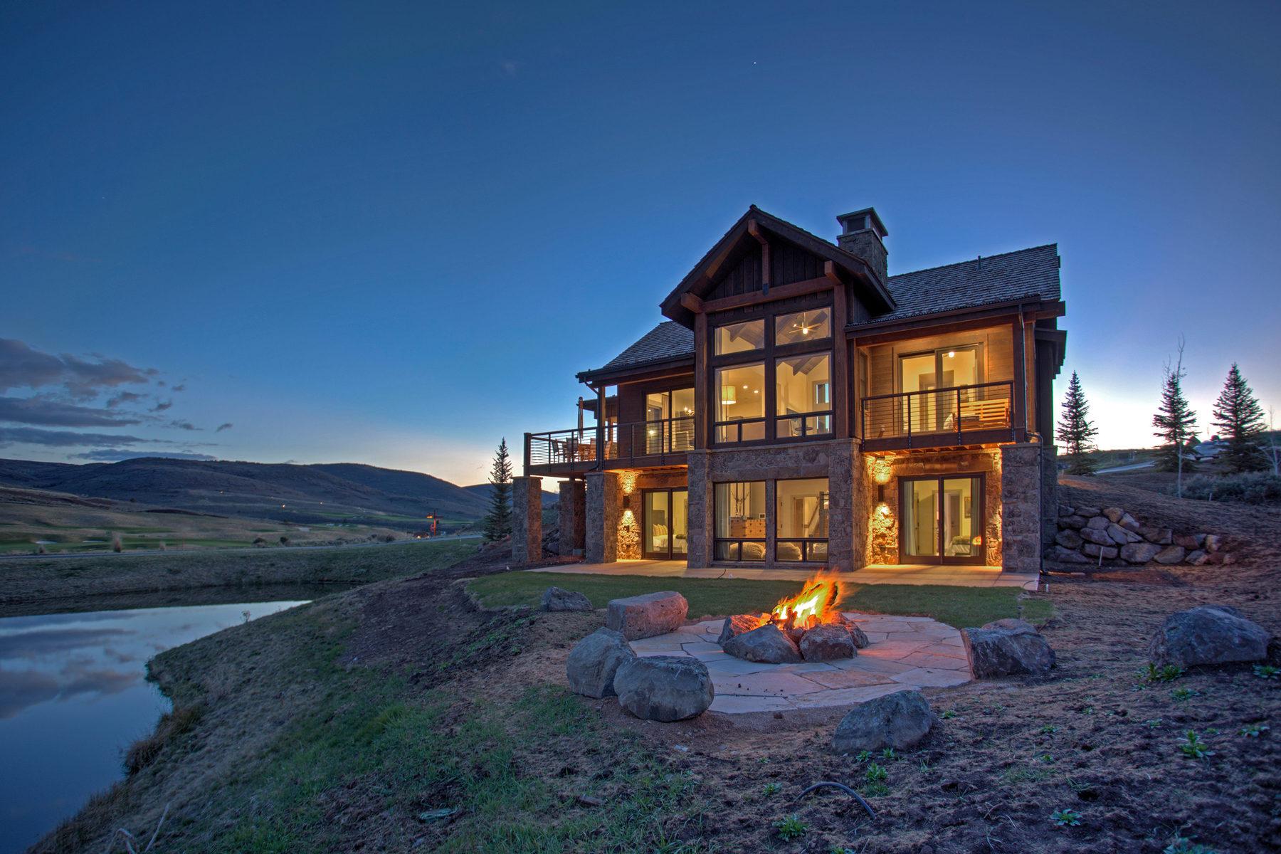 단독 가정 주택 용 매매 에 Cottonwood Cabin With Spectacular Views 6964 E Rising Star Ct #287 Heber City, 유타, 84032 미국