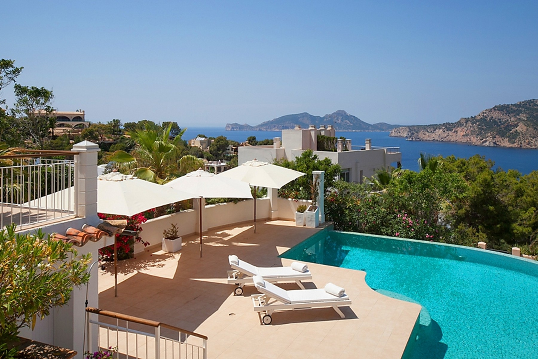 Single Family Home for Sale at Dream villa with fantastic views in Port Andratx Port Andratx, Mallorca 07157 Spain