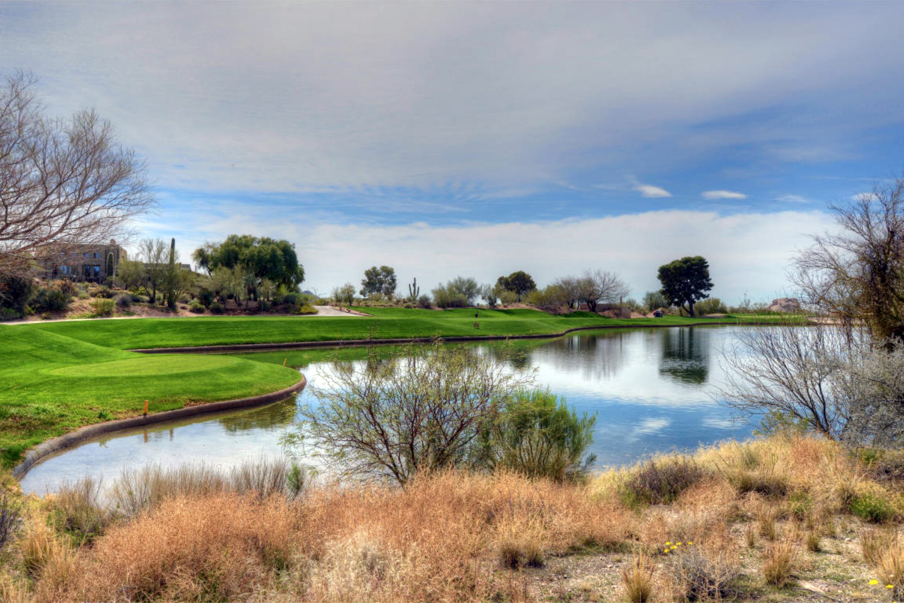 Vivienda unifamiliar por un Venta en Luxury Build To Suit Residence On A Waterfront Golf Course Lot In The Boulders 4007 E La Ultima Piedra Rd Cave Creek, Arizona 85331 Estados Unidos