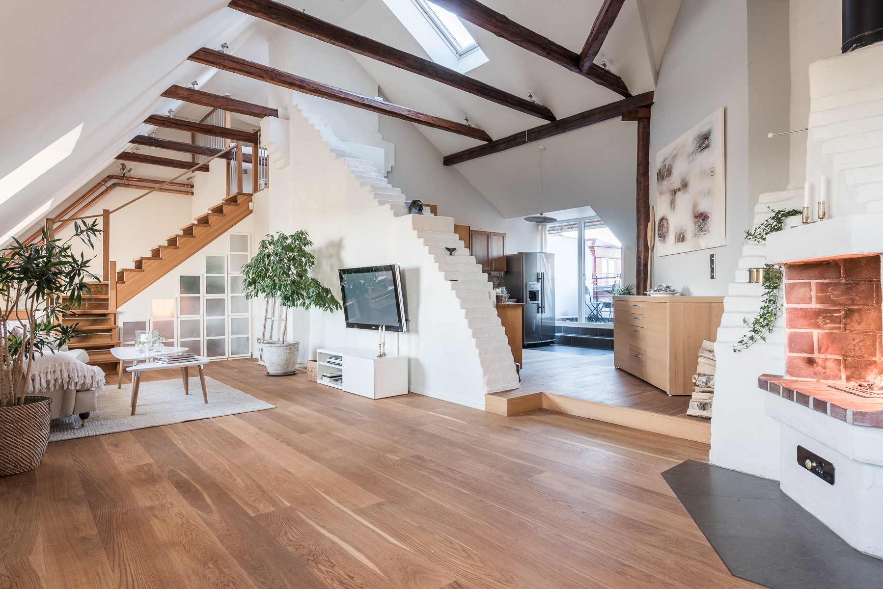 Single Family Home for Sale at Stunning city apartment Stockholm, Stockholm Sweden