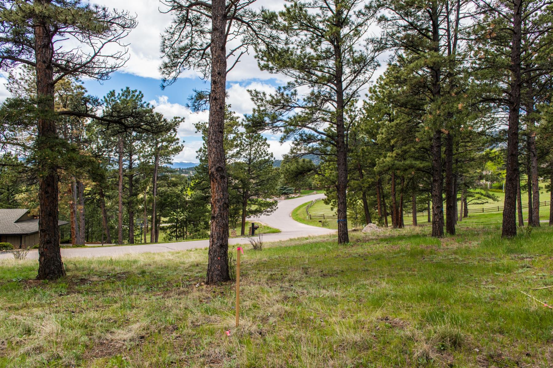 Земля для того Продажа на Premium Building Site! TBD Canterbury Circle Evergreen, Колорадо 80439 Соединенные Штаты