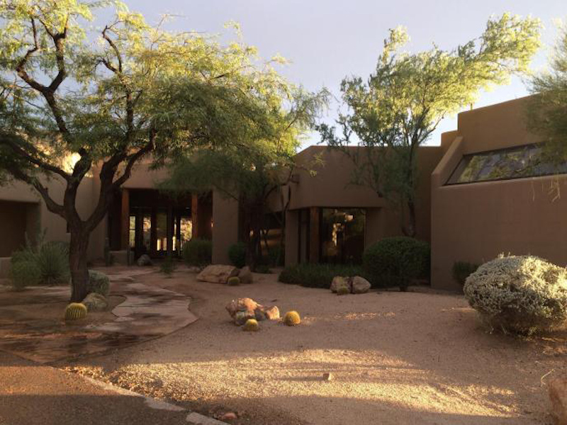 Single Family Home for Sale at Luxury Estate with Stunning Views 10801 E Happy Valley Rd Scottsdale, Arizona 85255 United States