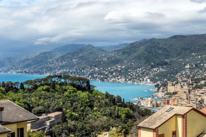 Single Family Home for Sale at Exclusive villa in ligurian style via Castagneto Seià Camogli, 16032 Italy