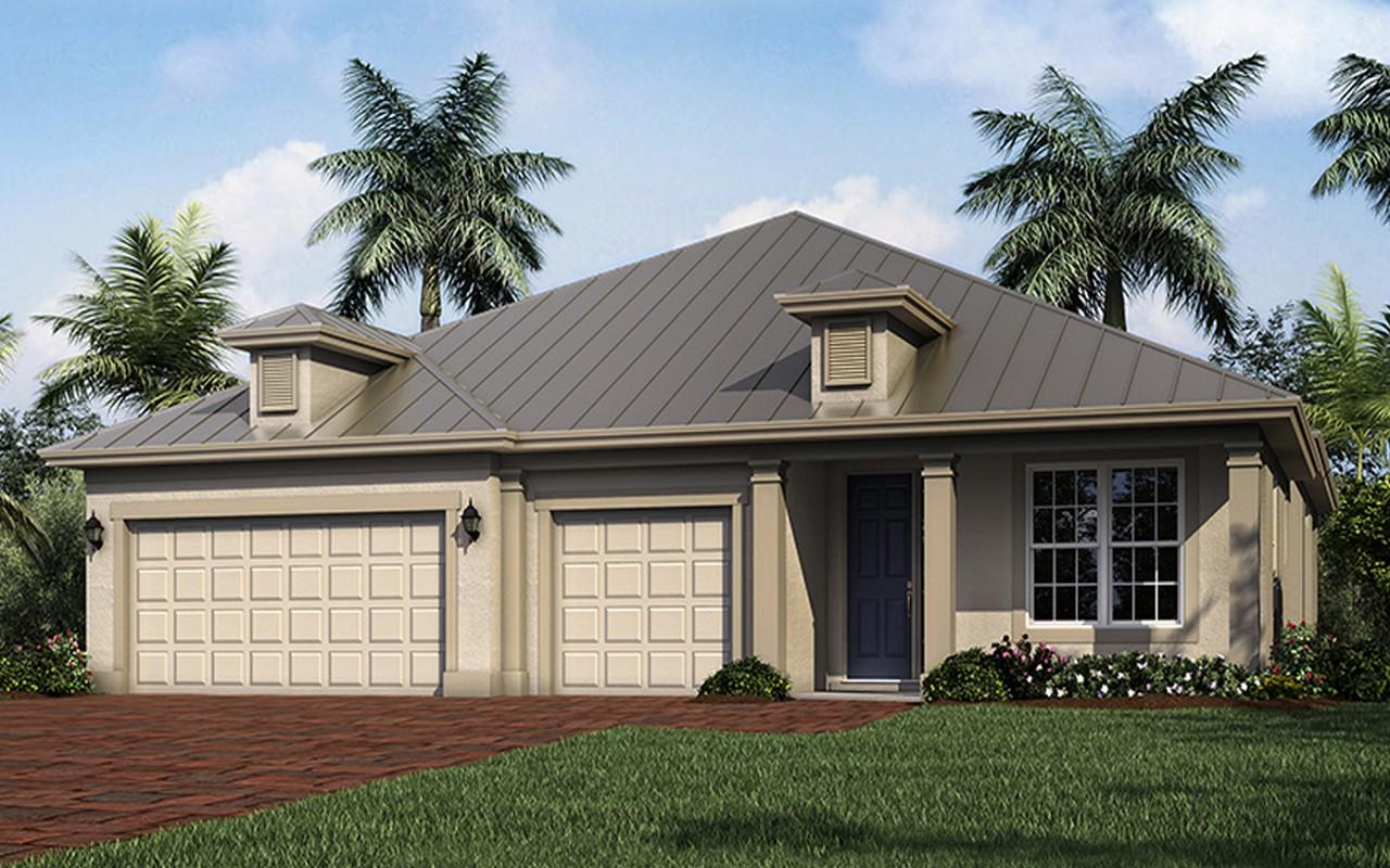 Casa Unifamiliar por un Venta en Nassau Grande Model Home 402 11th Square SW Vero Beach, Florida, 32962 Estados Unidos