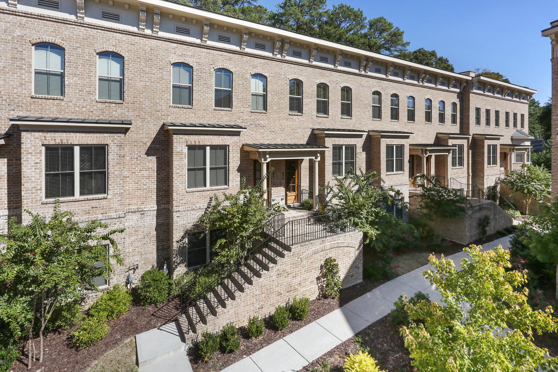 타운하우스 용 매매 에 Stunning Ansley Townhome 535 Ansley Circle NE #606 Atlanta, 조지아, 30324 미국
