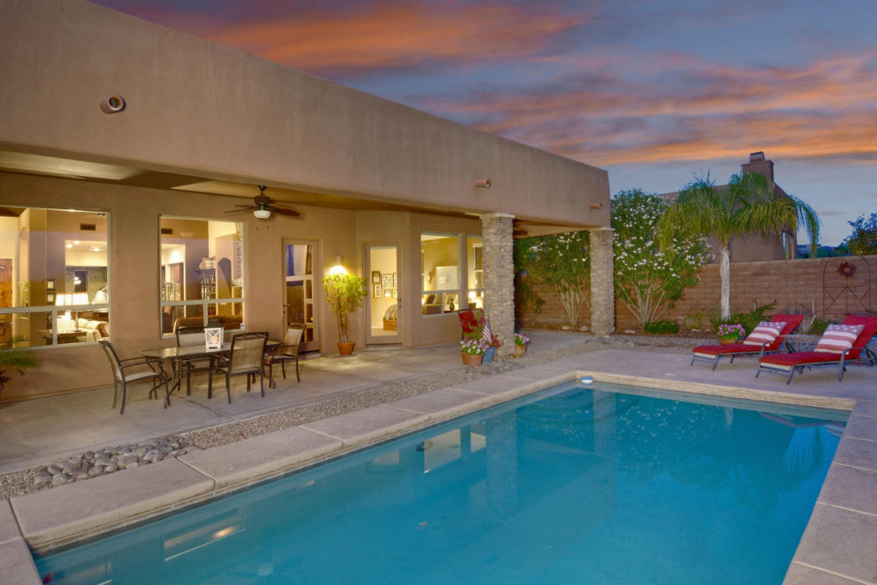 Property For Sale at Dove mountain delight, fabulous southwest contemporary.