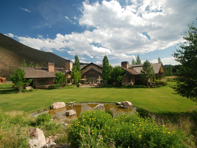 Single Family Home for Sale at Generational Masterpiece 301 Wall Street Ketchum, Idaho 83340 United States