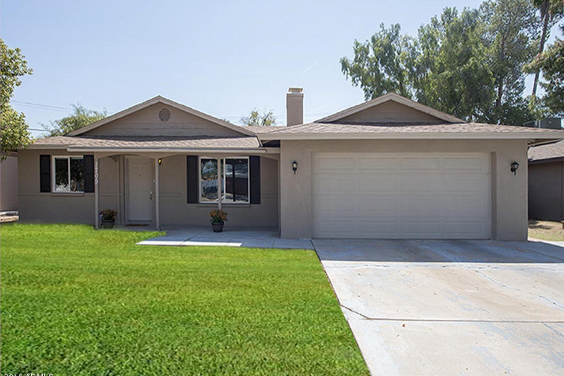 独户住宅 为 销售 在 Lovely single level home in a great neighborhood 7709 N 18th Ave 菲尼克斯(凤凰城), 亚利桑那州, 85021 美国