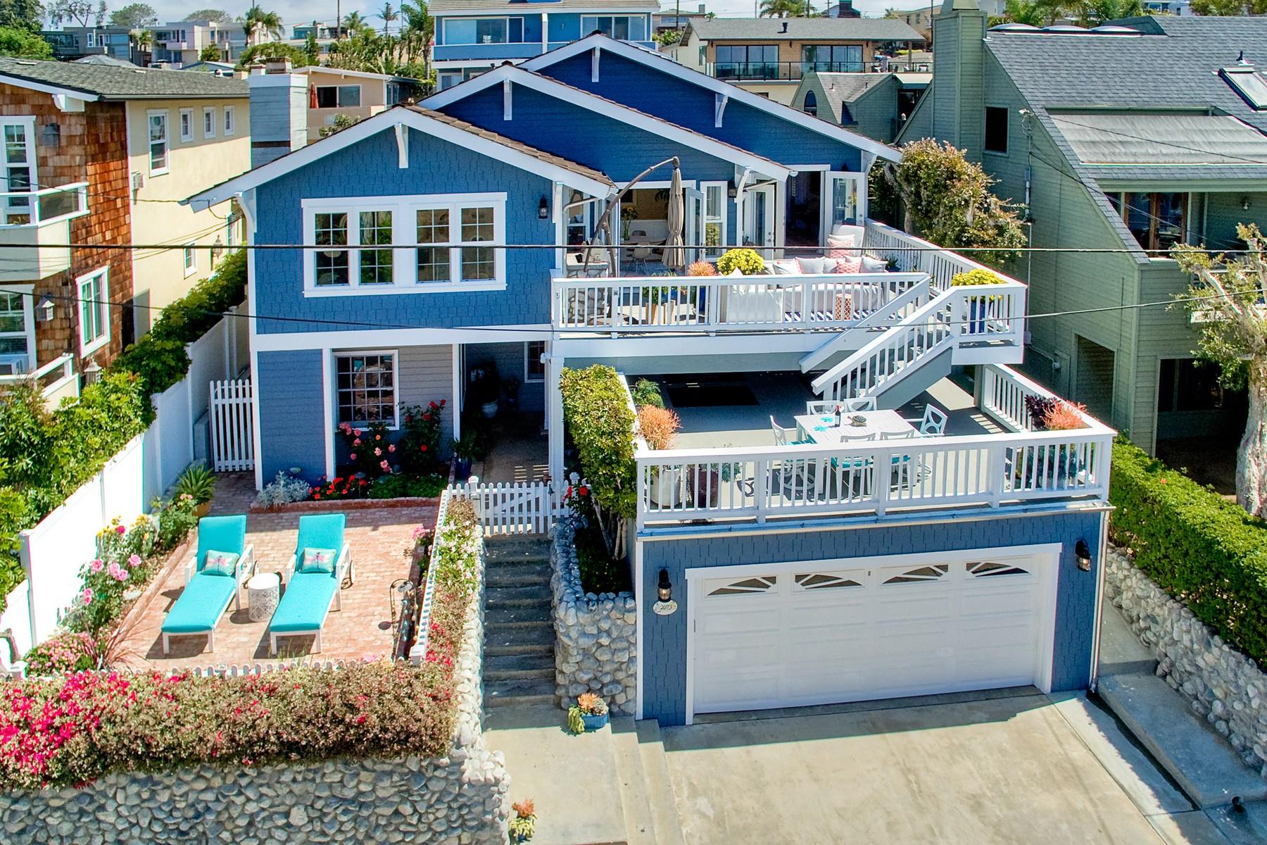 Maison unifamiliale pour l Vente à 2073 Cambridge Avenue Cardiff, Californie 92007 États-Unis