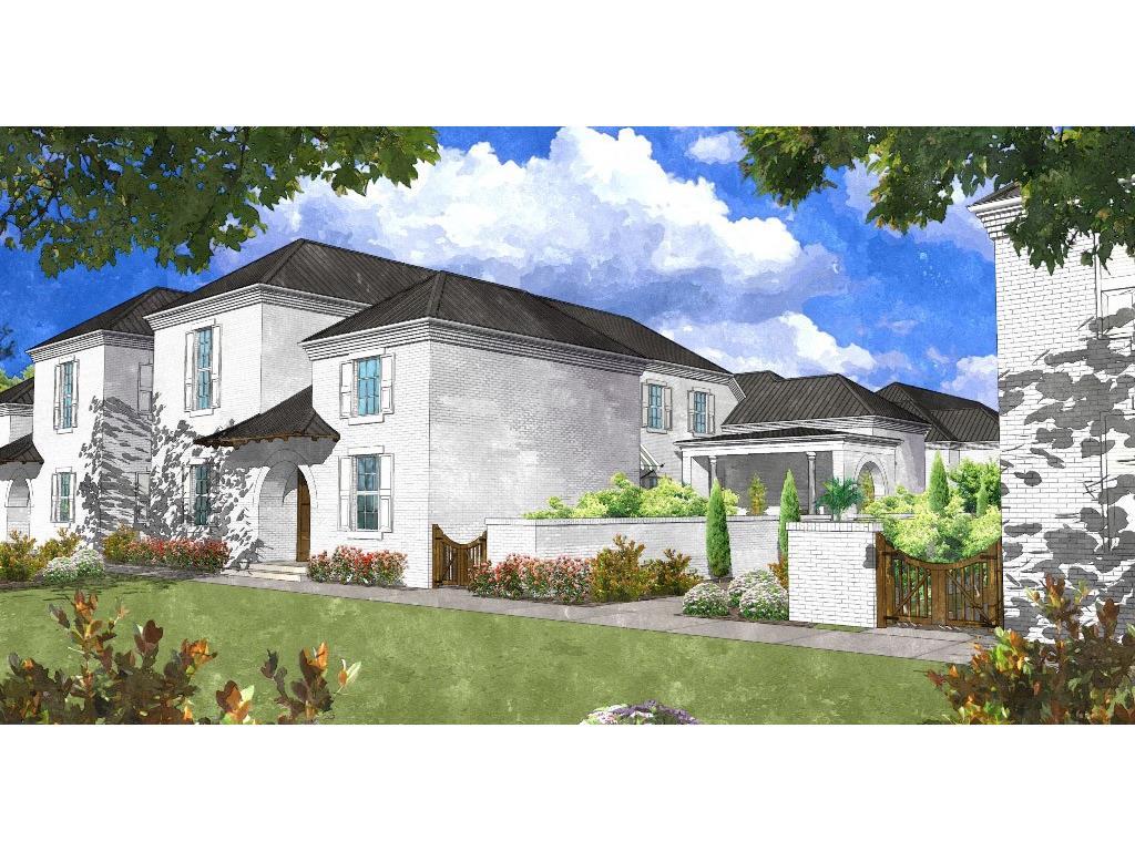 Single Family Home for Sale at A Sophisticated Avalon Masterpiece 211 North Esplanade Alpharetta, Georgia, 30009 United States