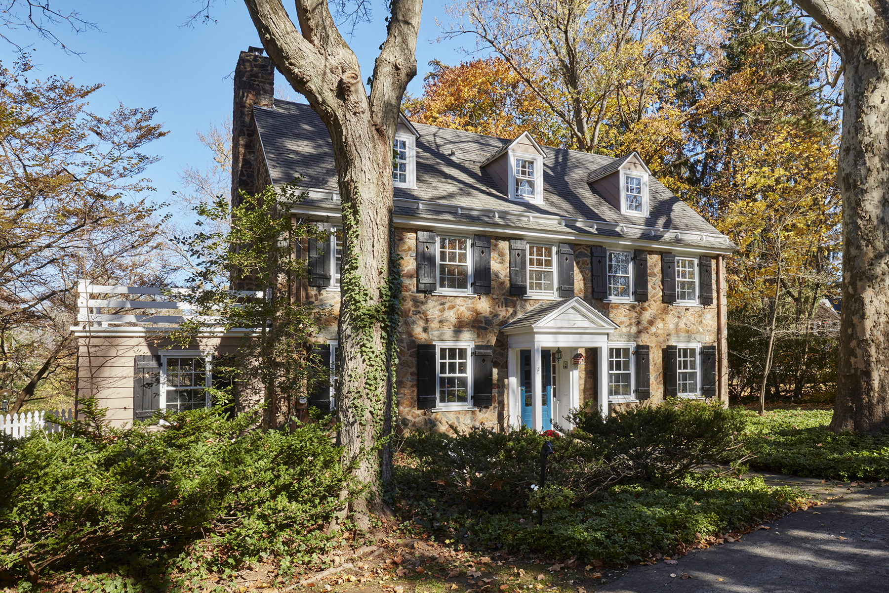 Single Family Home for Sale at Main Line Stone Manor Home 774 Harrison Road Villanova, Pennsylvania 19085 United States