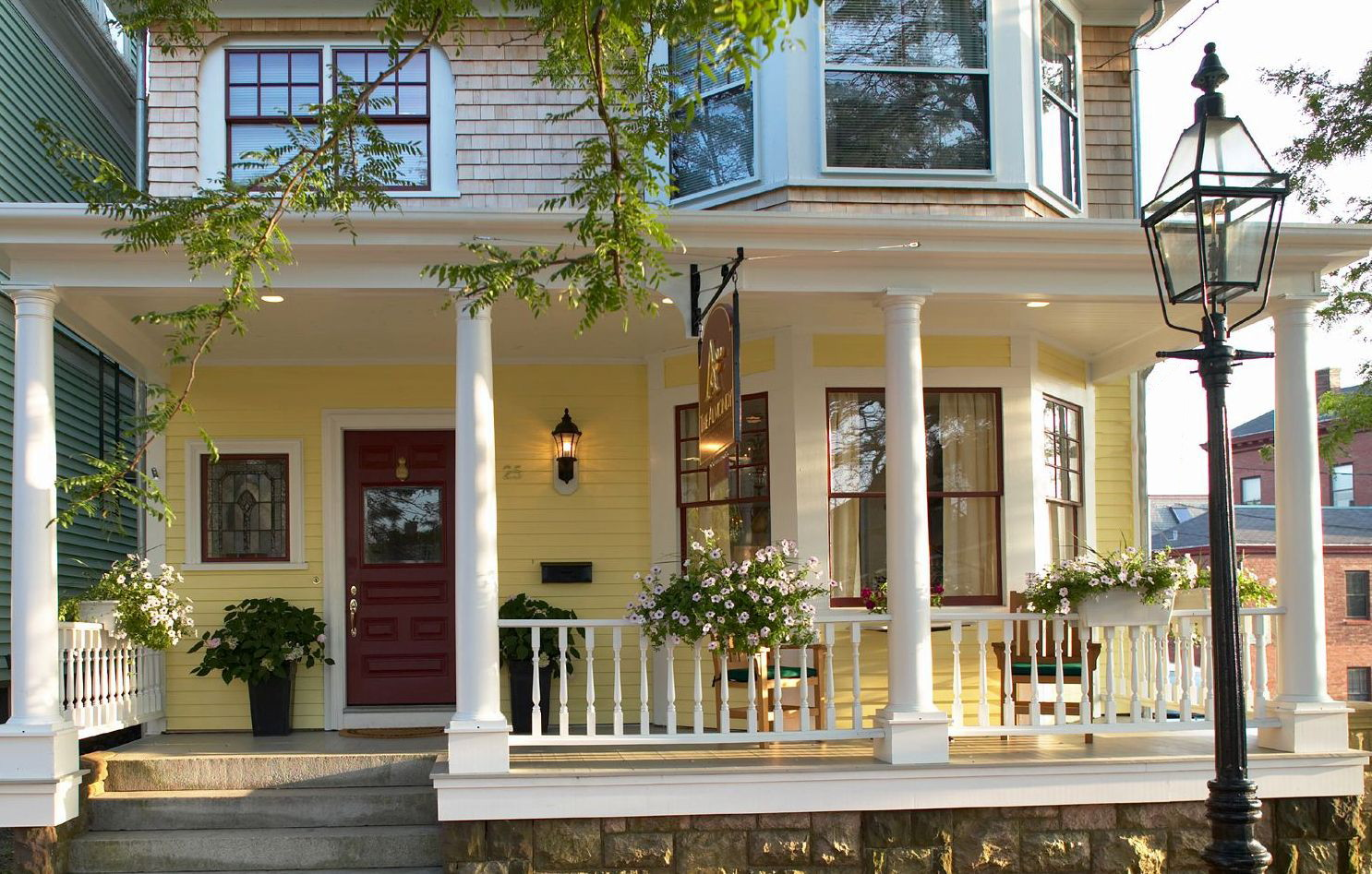 Bed and Breakfast for Sale at The Almondy Inn 25 Pelham Street Newport, Rhode Island 02840 United States