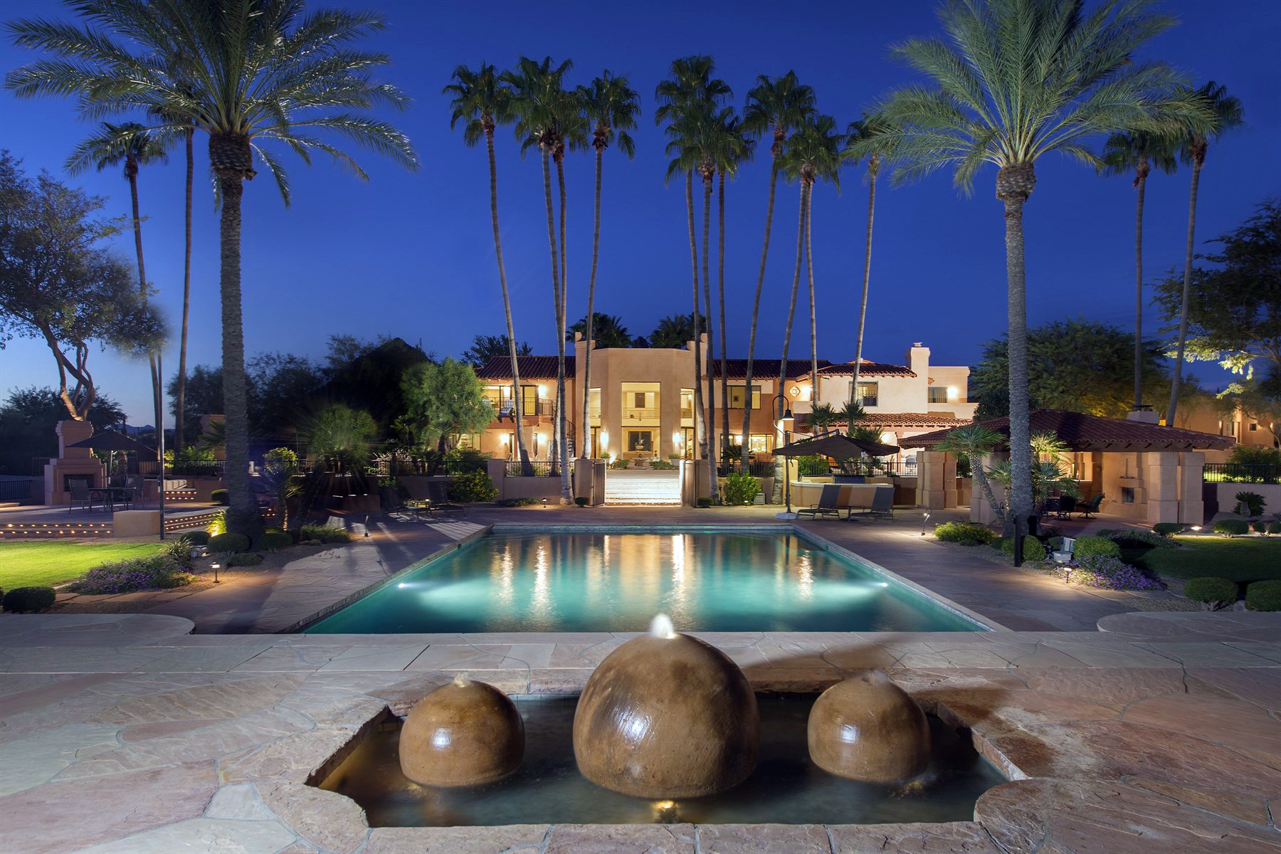 Single Family Home for Sale at Equestrian Luxury Living on 12 Glorious Acres Representing Oasis Ranch 10015 E Happy Valley Rd Scottsdale, Arizona 85255 United States