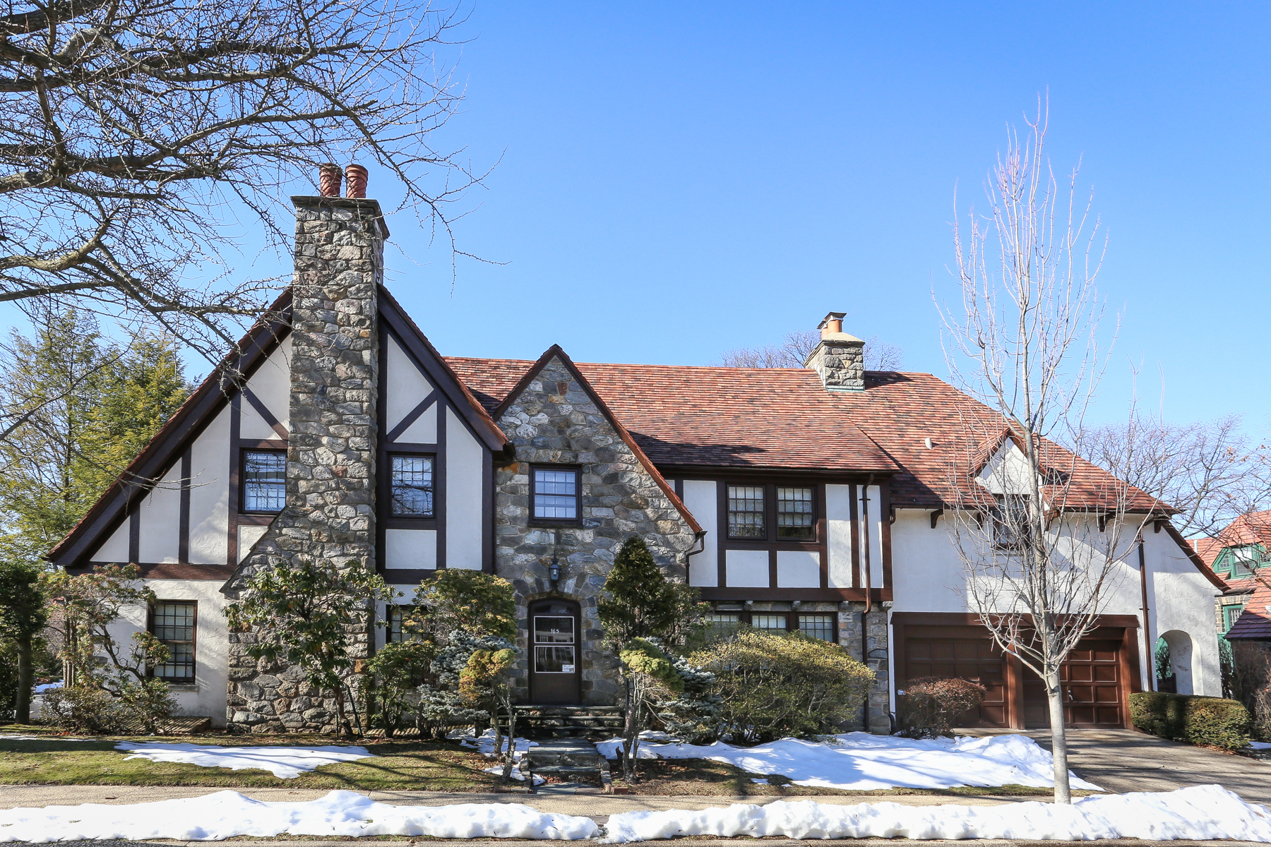 """Single Family Home for Sale at """"STATELY FIELDSTONE TUDOR"""" 165 Slocum Crescent, Forest Hills Gardens, Forest Hills, New York 11375 United States"""