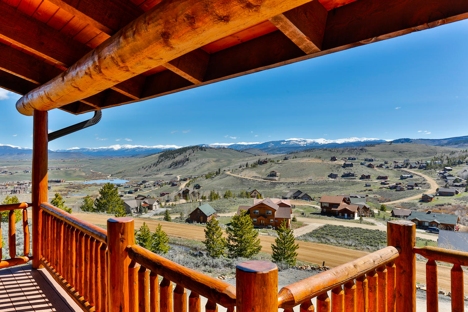 Single Family Home for Sale at Exceptional in style and function custom family home 269 Deer Trail Granby, Colorado, 80446 United States