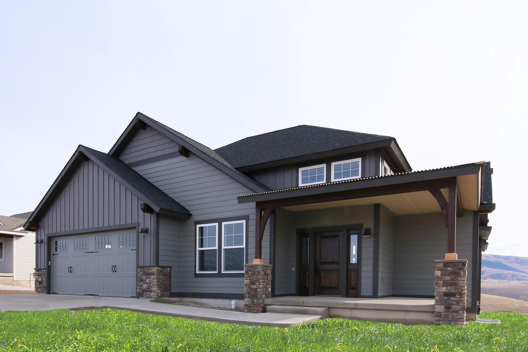 단독 가정 주택 용 매매 에 2726 Bunkhouse Place 2726 Bunkhouse Place Lot 163 Missoula, 몬타나, 59808 미국