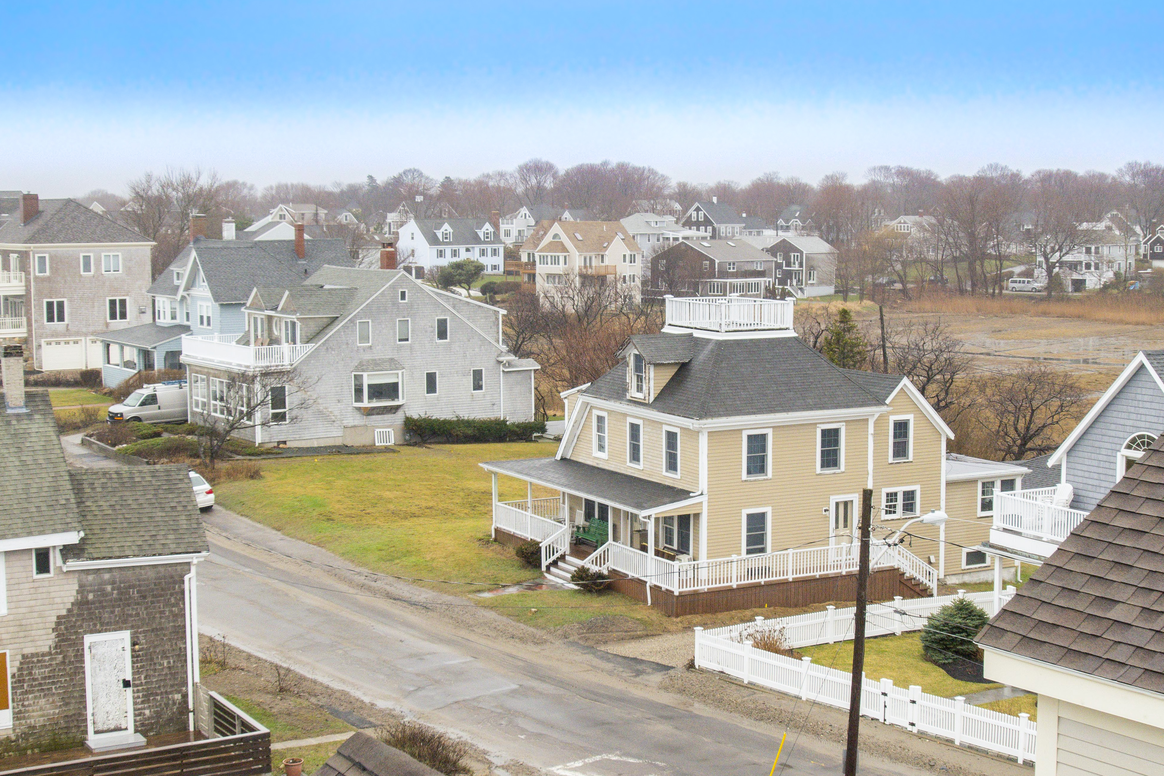 sales property at Minot Beach Waterfront Antique Home