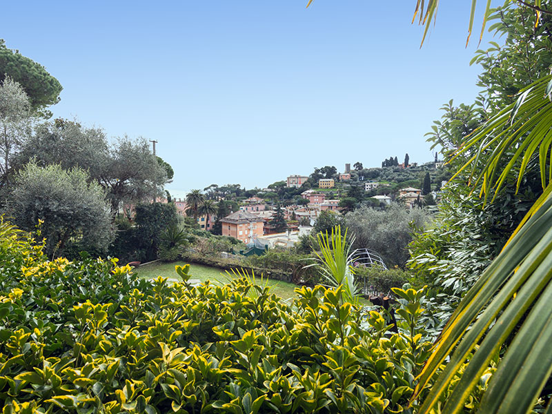 Additional photo for property listing at Nice villa with sea view and pool Via Conca del Sole Santa Margherita Ligure, Genoa 16035 Italien