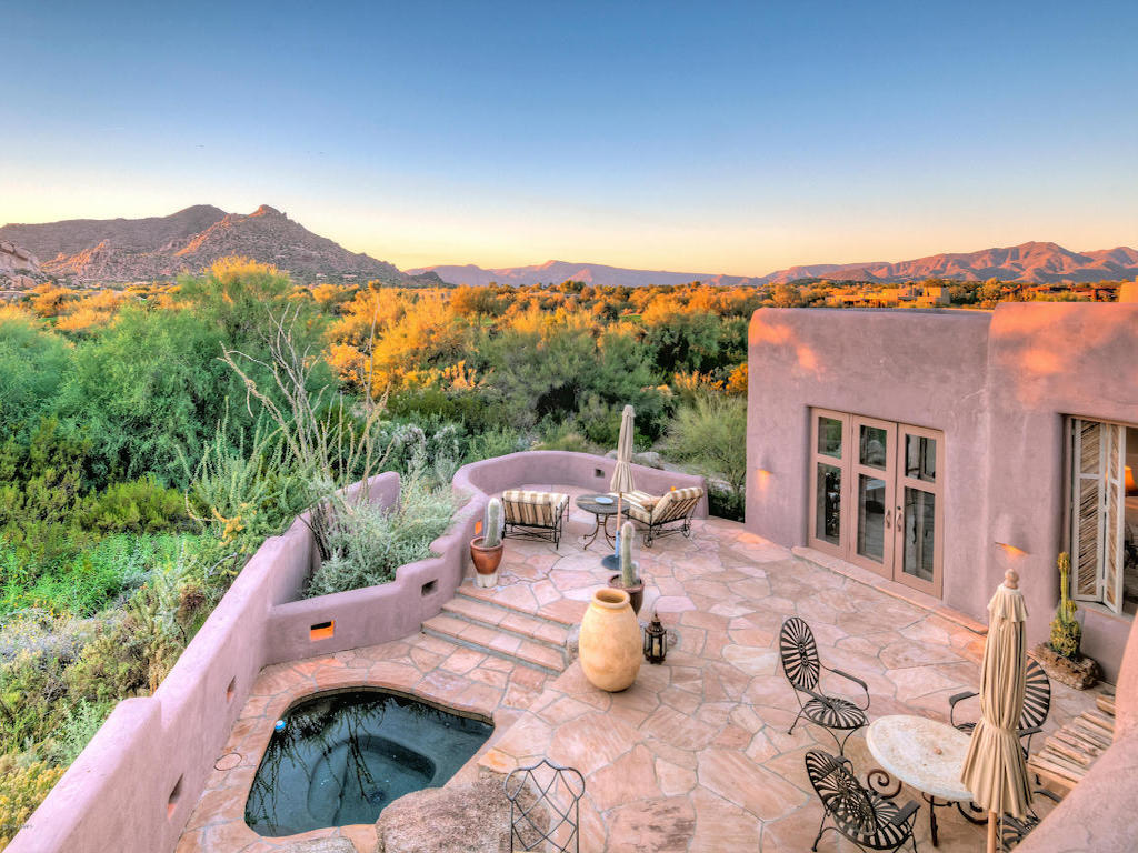 Single Family Home for Sale at Magnificent Original Bill Tull Home 7850 E EL SENDERO Scottsdale, Arizona 85266 United States