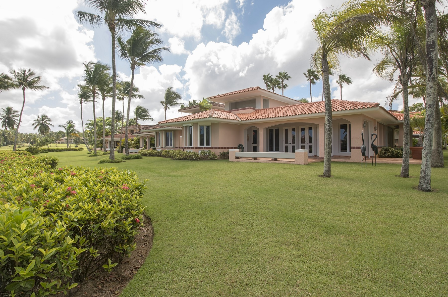 Single Family Home for Sale at Mediterranean Villa at The Greens 3 Green Villas Drive Dorado Beach, 00646 Puerto Rico