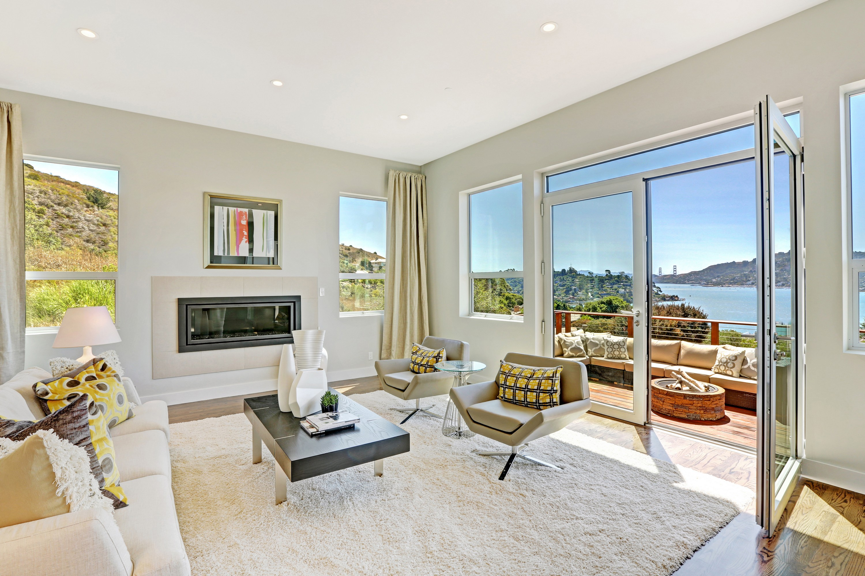 Property For Sale at Stunning Tiburon View Home
