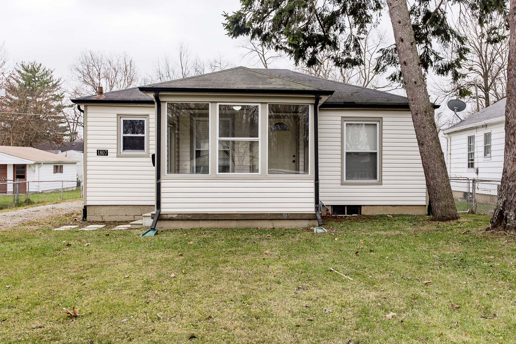 Single Family Home for Sale at Just North of Broad Ripple Bungalow 1807 E. 66th Street Indianapolis, Indiana, 46220 United States