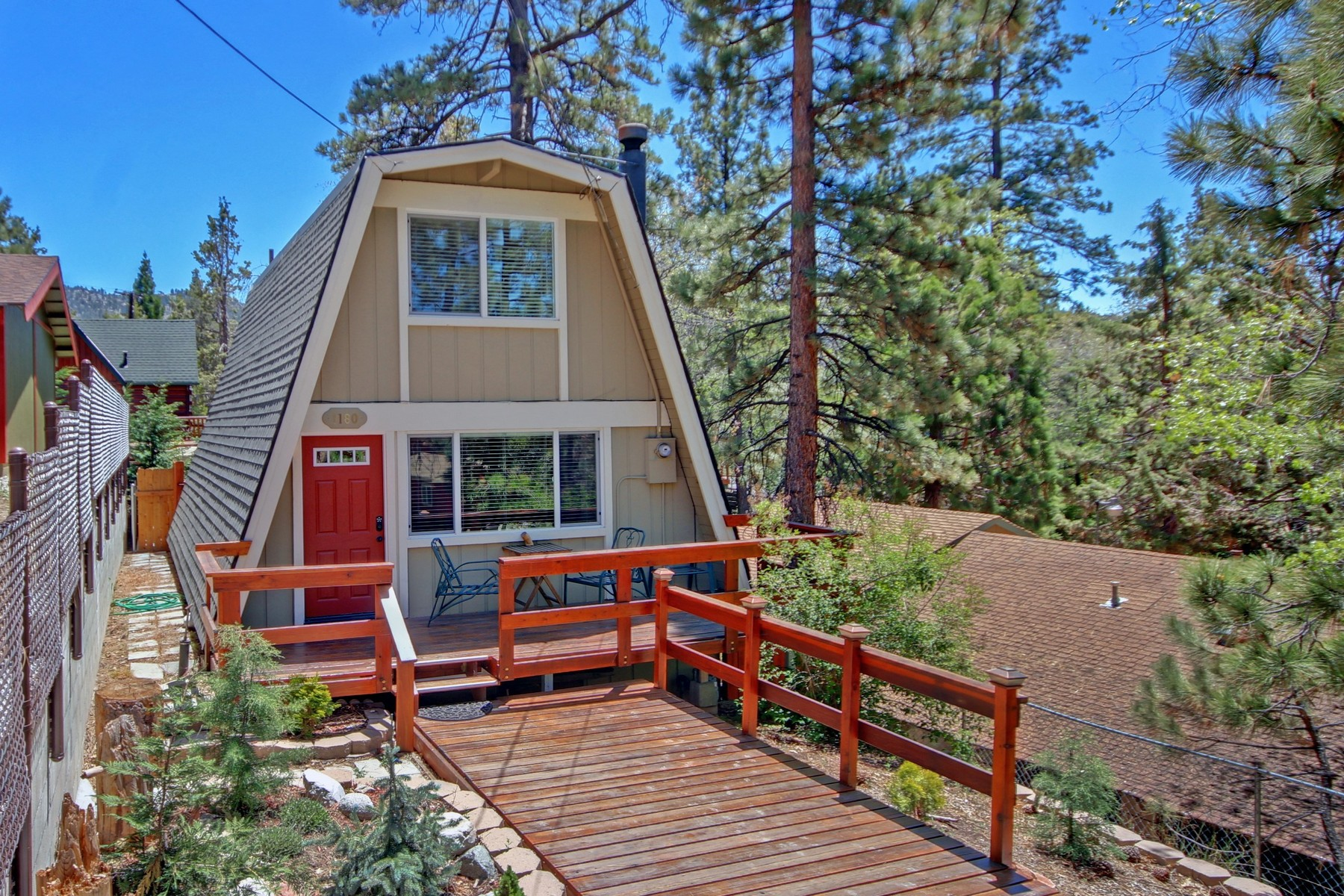 Single Family Home for Sale at 1180 Alta Vista Big Bear City, California 92314 United States