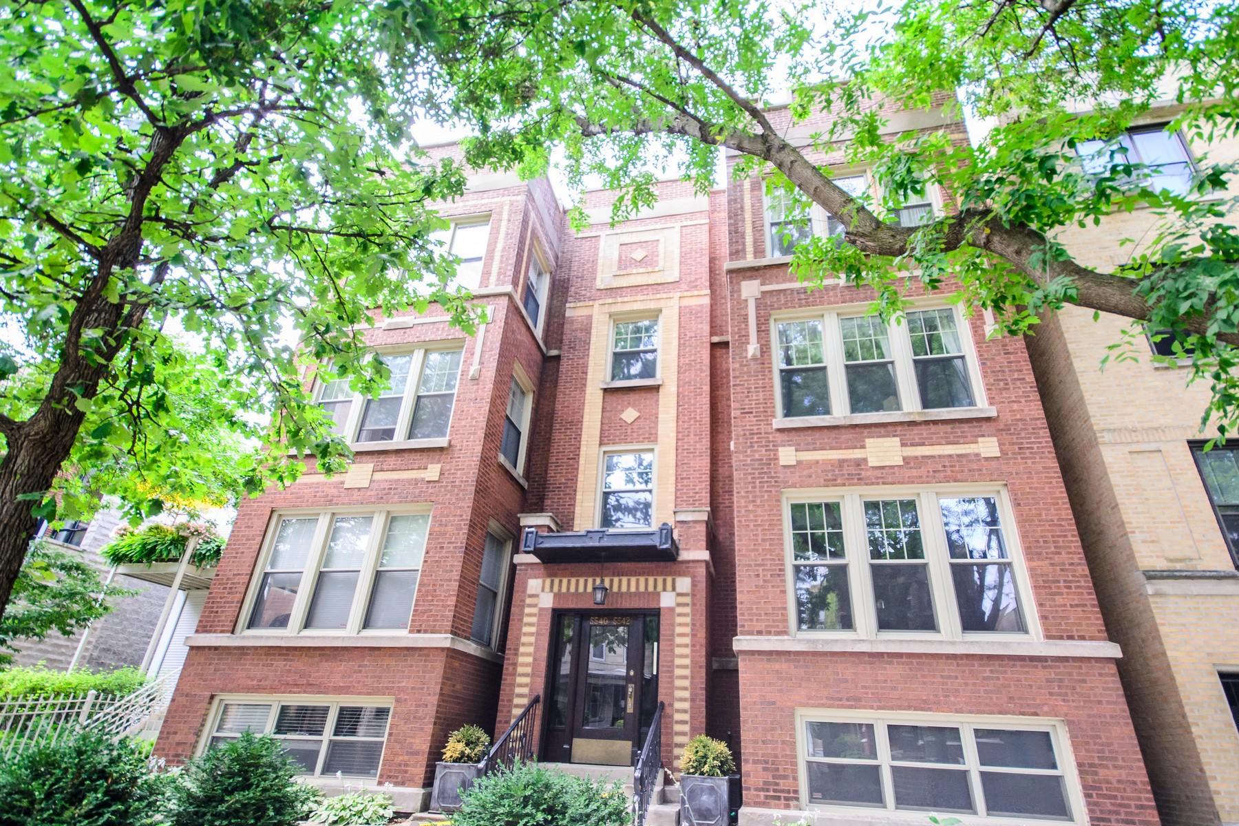 Eigentumswohnung für Verkauf beim Andersonville Penthouse 5540 N Glenwood Avenue #3S Edgewater, Chicago, Illinois 60640 Vereinigte Staaten