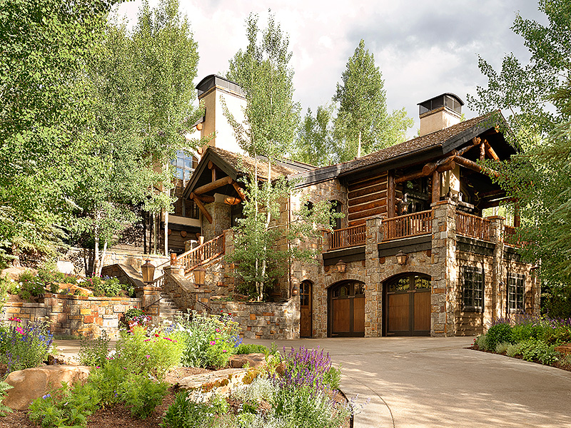 Casa Unifamiliar por un Venta en Modern Day Mountain Lodge 389 Pine Crest Drive Snowmass Village, Colorado 81615 Estados Unidos