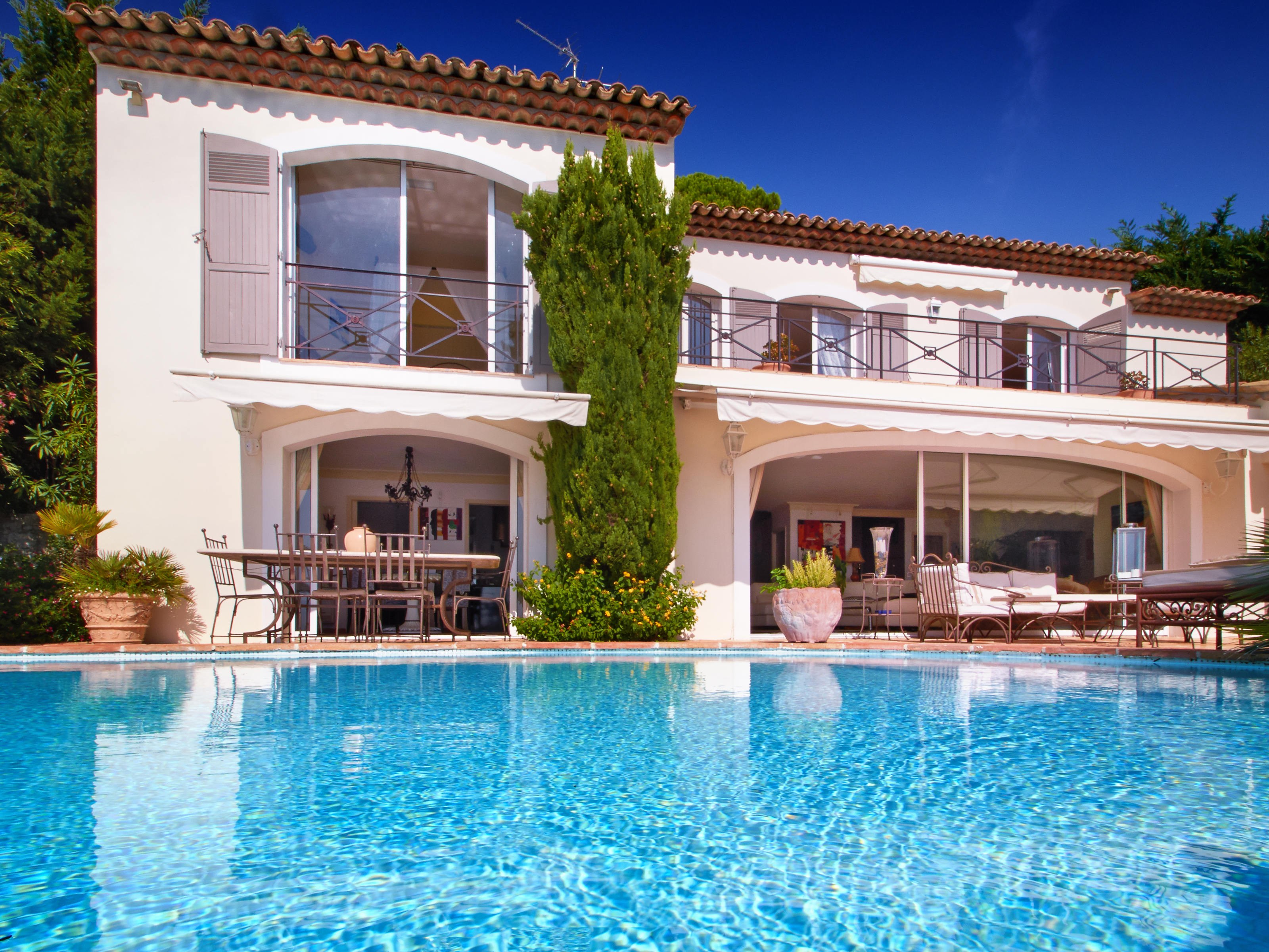Single Family Home for Sale at Villa with panoramic sea view in Mougins village Mougins, Provence-Alpes-Cote D'Azur 06250 France