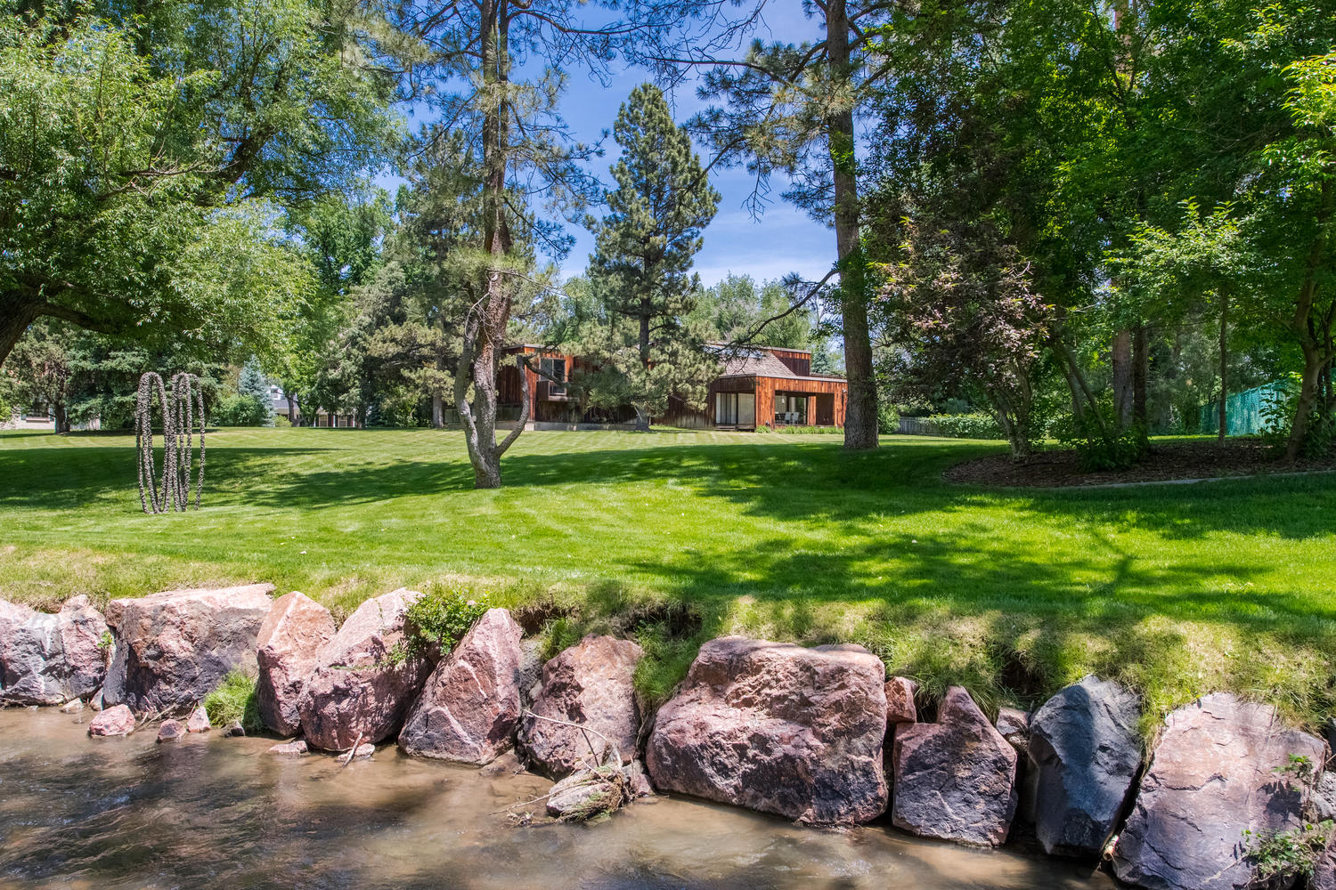 Single Family Home for Sale at Renowned architects personal home on private one acre site 11 Martin Ln Cherry Hills Village, Colorado, 80113 United States