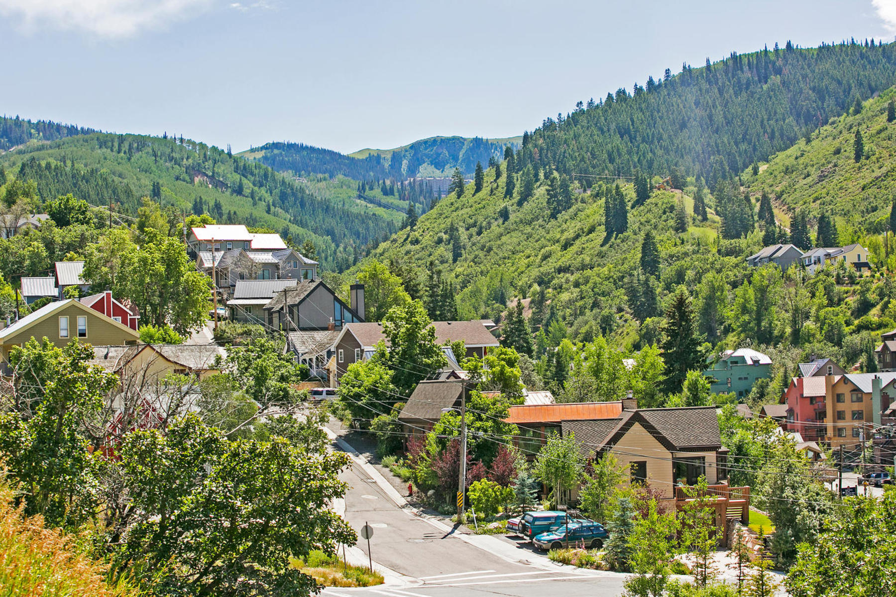 Single Family Home for Sale at Outstanding year round location in Old Town with 2 Car Garage and Resort Views! 1307 Sullivan Rd Park City, Utah, 84060 United States