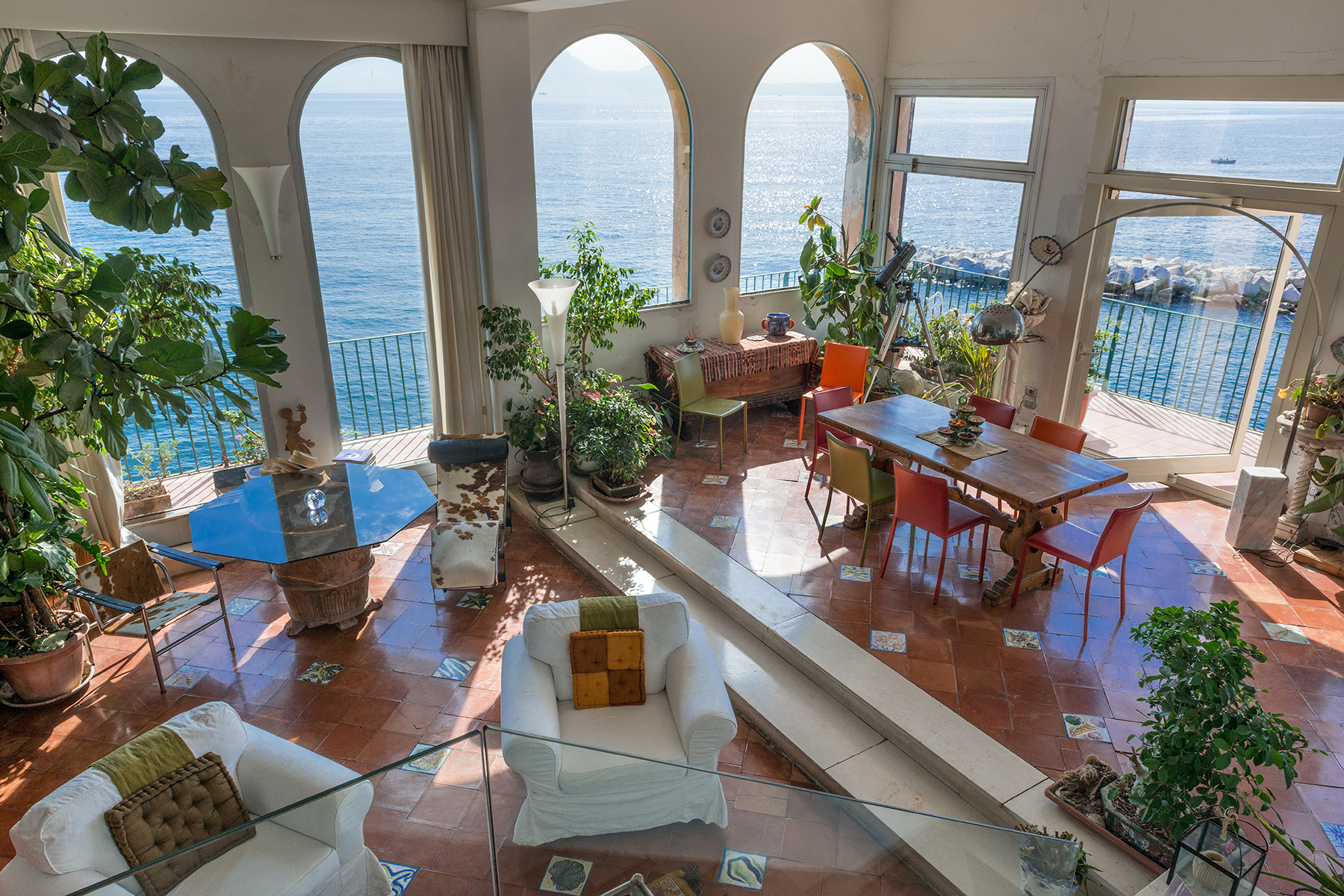 Appartement pour l Vente à Monumental house by the sea Napoli, Naples Italie