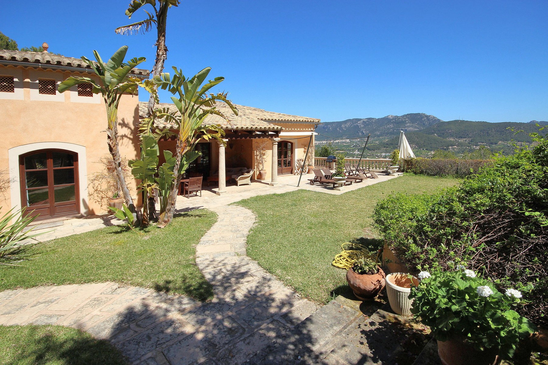 Single Family Home for Sale at Luxury Country Estate with panoramic views Port Andratx, Mallorca 07157 Spain