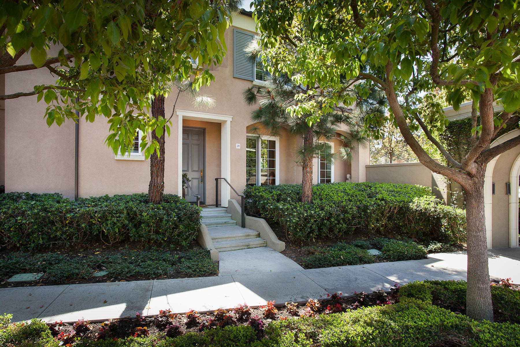共管式独立产权公寓 为 销售 在 39 Via Amanti 纽波特比奇, 加利福尼亚州, 92657 美国