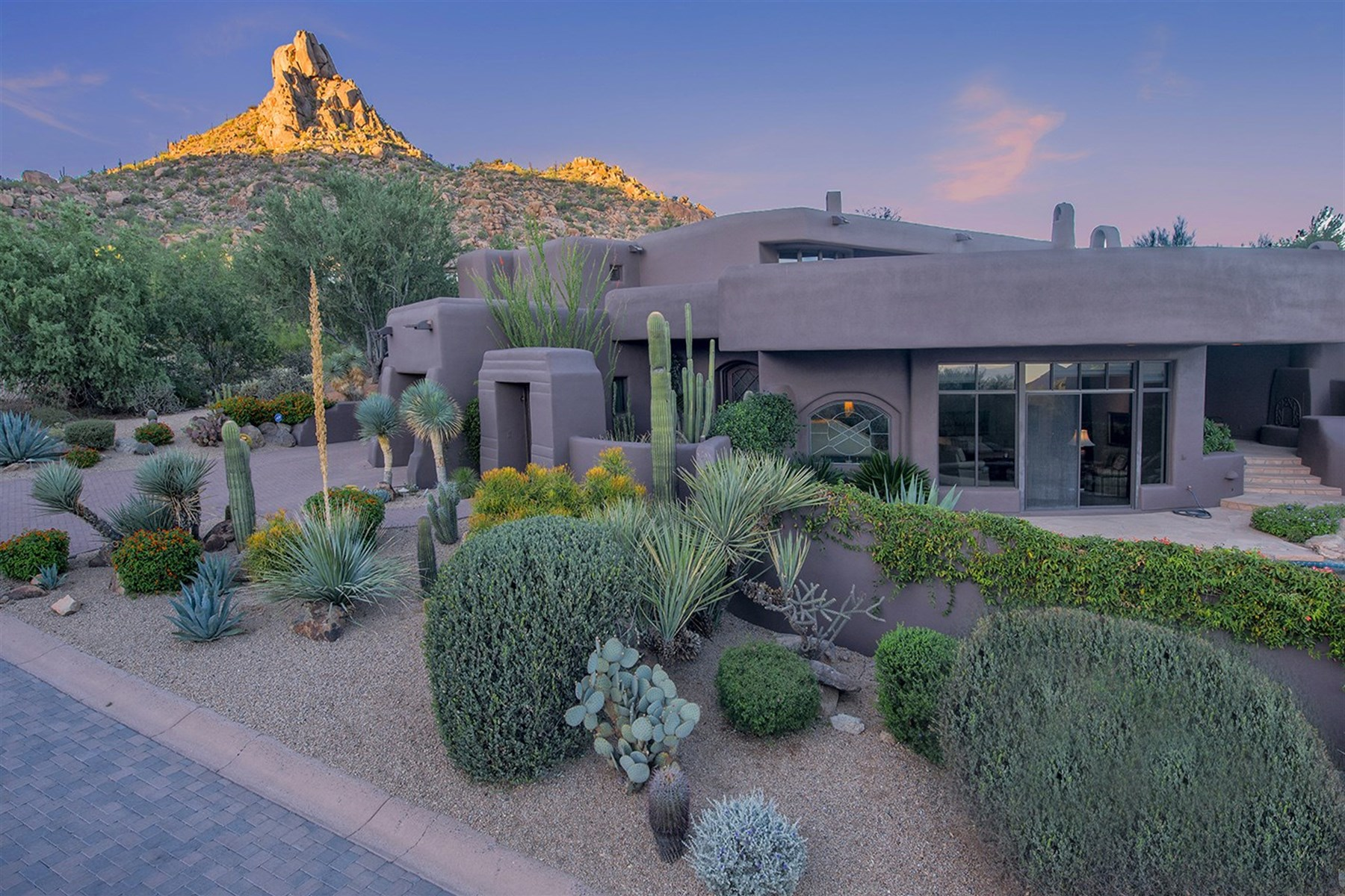 sales property at Romantic enclave of the Hillside Villa Estates at Desert Highlands