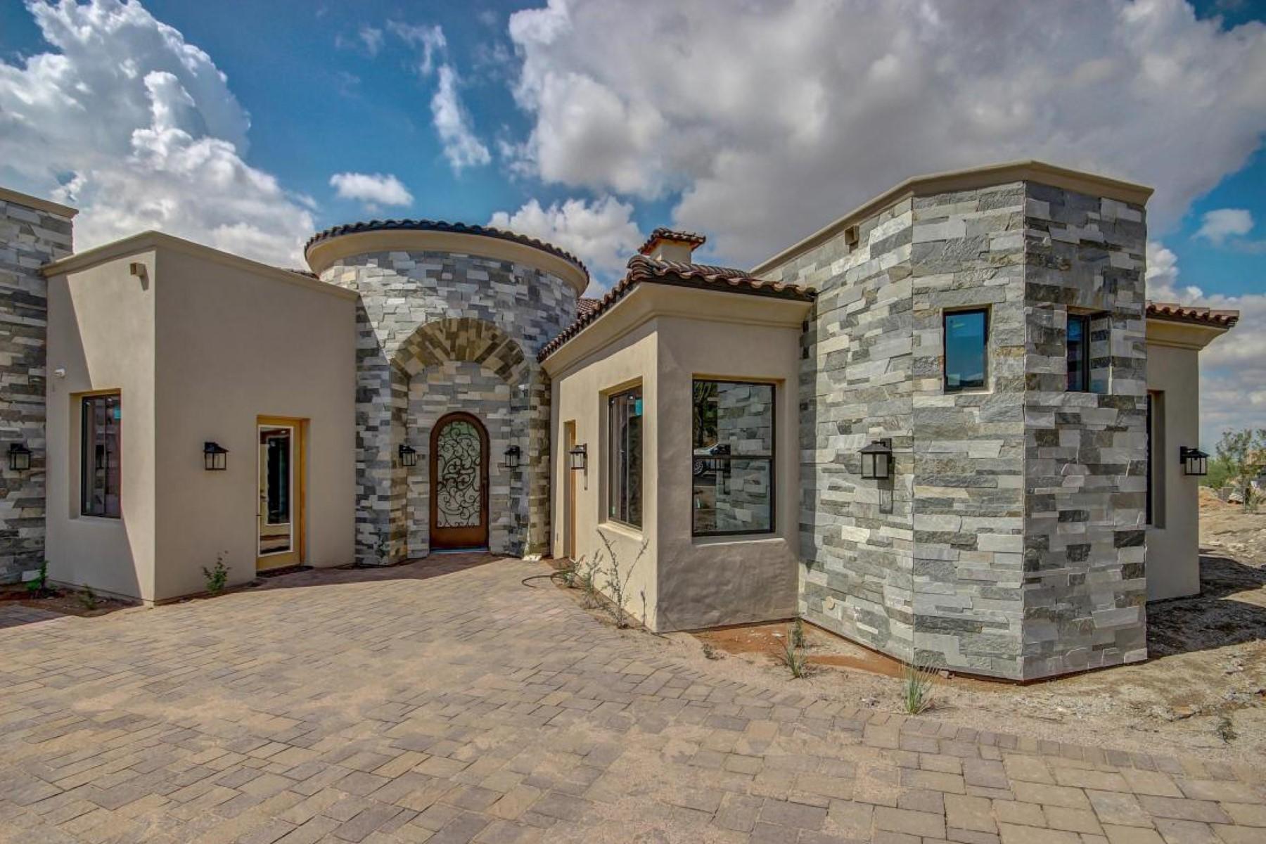 Maison unifamiliale pour l Vente à luxuriously crafted custom masterpiece 7421 East Forest Trail Circle Mesa, Arizona, 85207 États-Unis