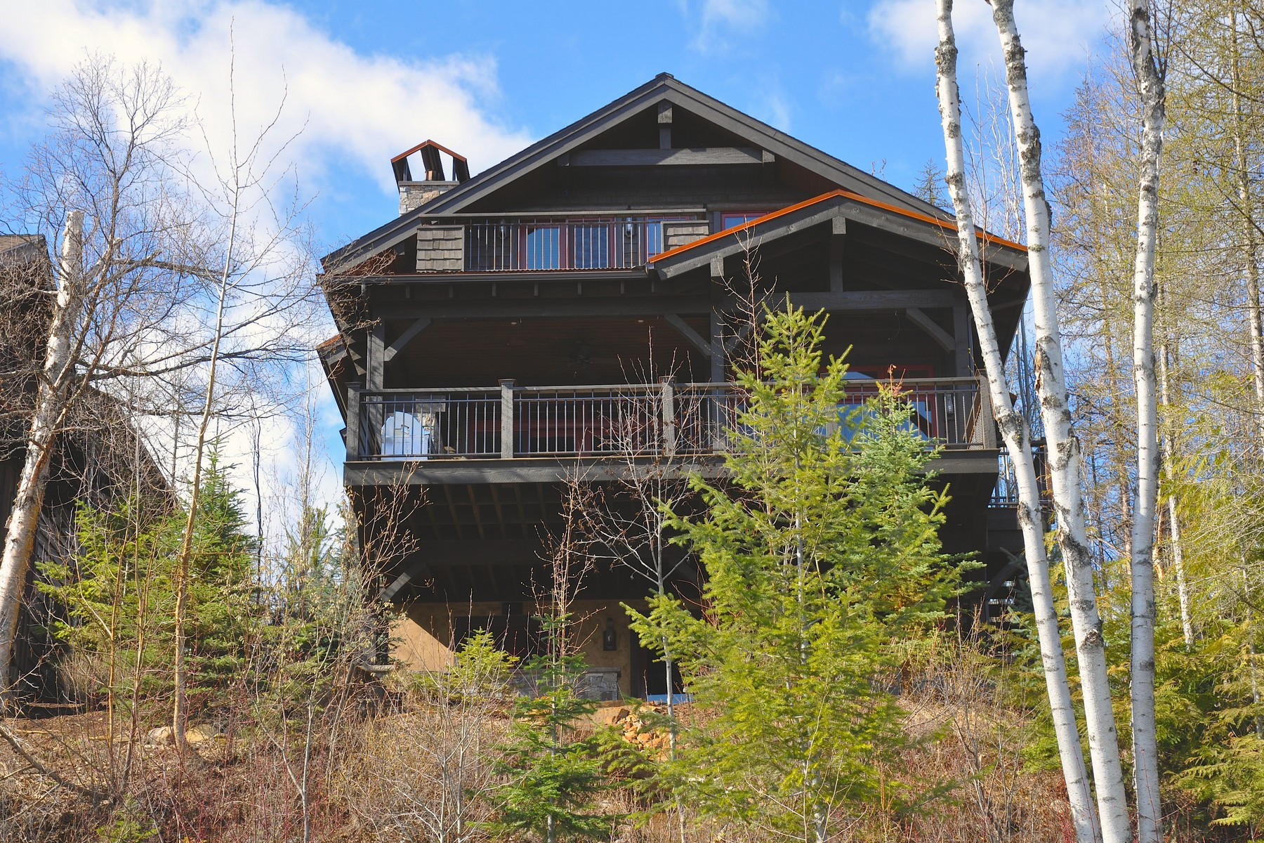 Property For Sale at Rustic Custom Home on Whitefish Lake