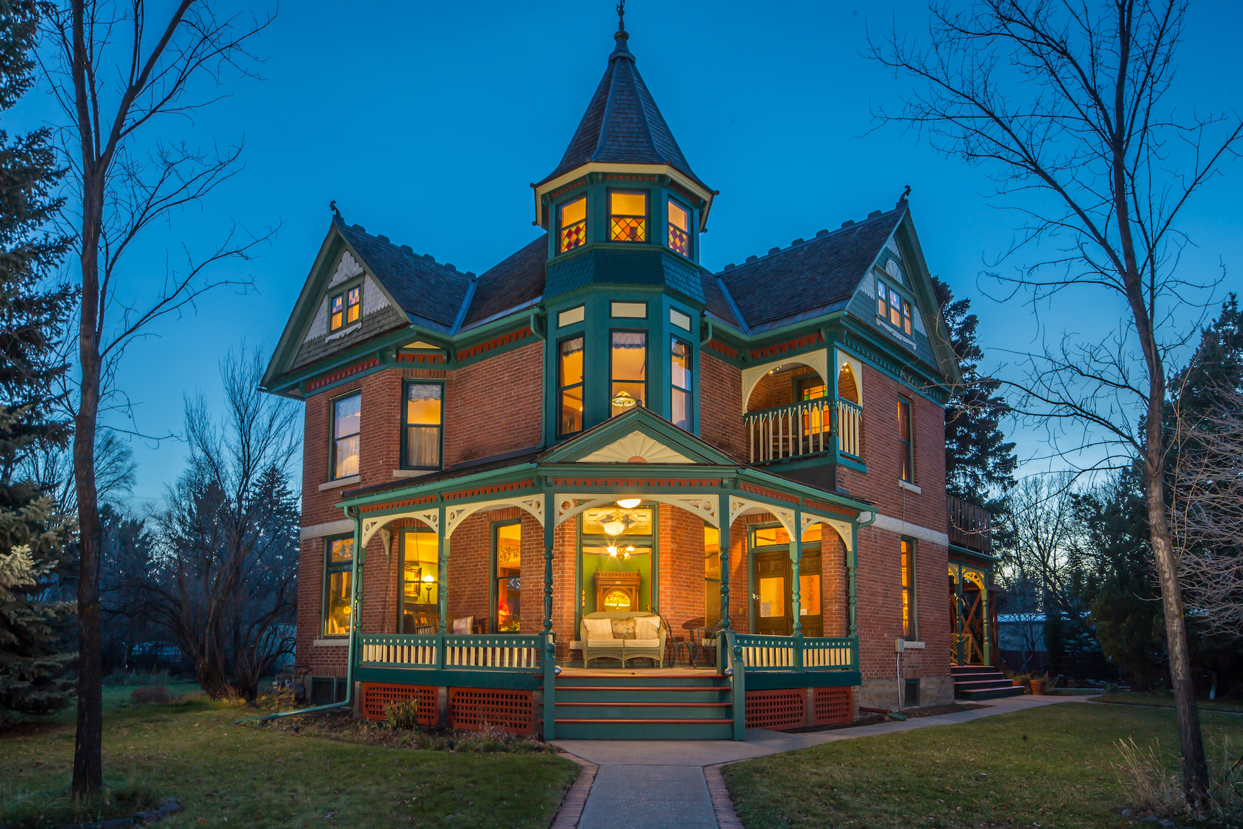 一戸建て のために 売買 アット Queen Anne Style Lehrkind Mansion 719 N Wallace Avenue Bozeman, モンタナ, 59715 アメリカ合衆国