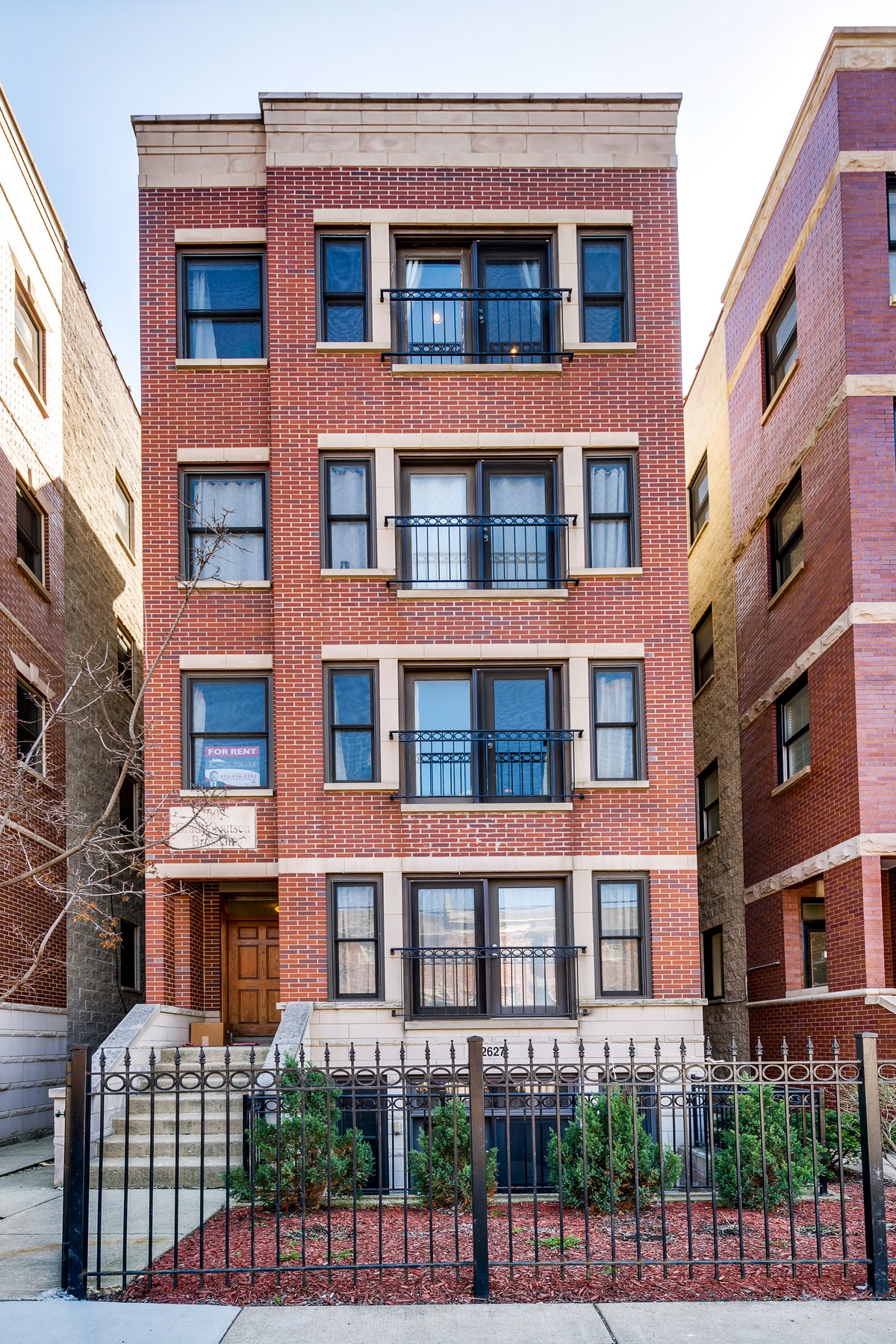 Condominium for Sale at Stunning Two Bedroom Penthouse Unit! 2627 W Belmont Avenue Unit 4 Chicago, Illinois, 60618 United States