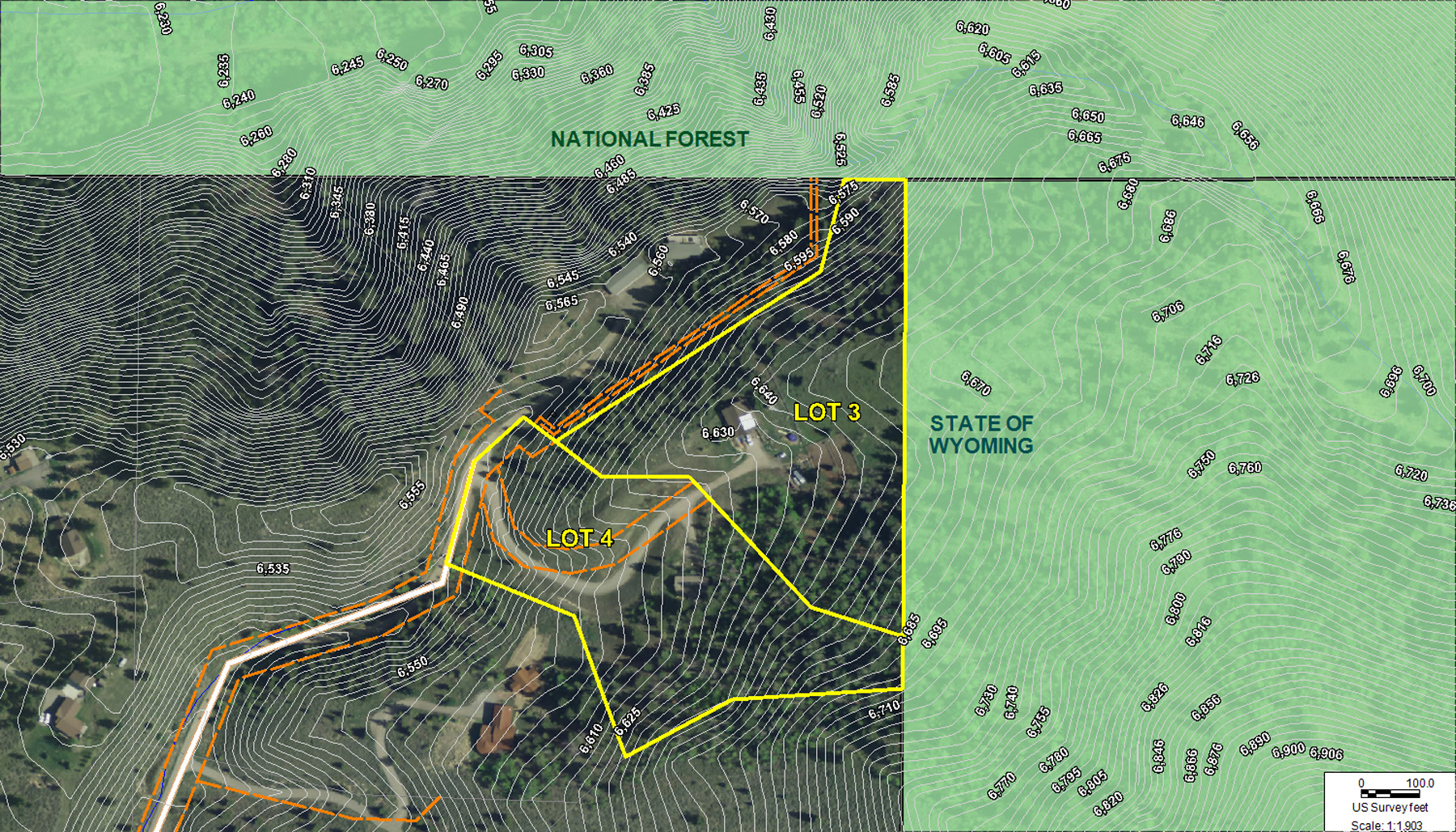 Property For Sale at Adjacent Lots In Game Creek Ranch
